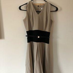 Calvin K dress w belt
